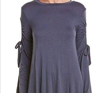 BCBGeneration Womens Drawstring Dress